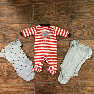 Newborn Bundle Onesies Sleep Play